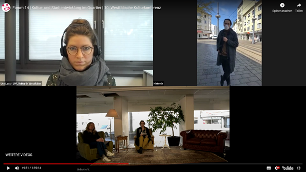 Digitale Kulturkonferenz erreicht 600 Teilnehmer*innen